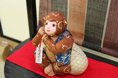 2016干支 猿 木目込み人形 素材を販売