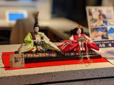 有松絞 雛人形 !今年度の東京、渋谷に飾られたお雛様です。
