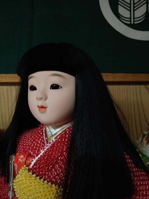 あおう人形新展示場 只今の店内 岡崎雛人形