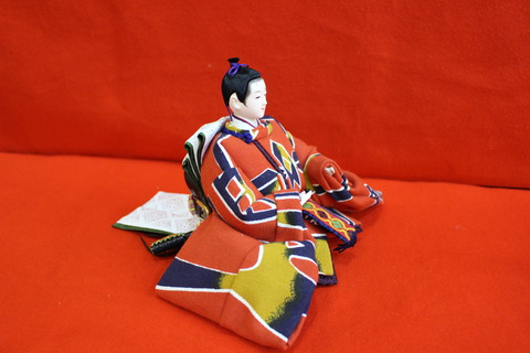 帯地で造ったお雛様 羽子板 破魔弓 正月飾りも販売中