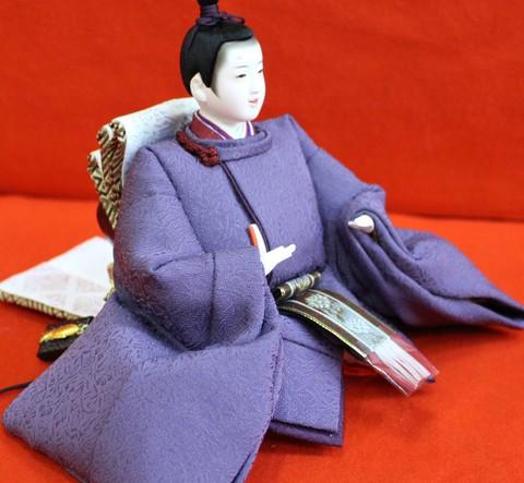 おひなさま 桐竹鳳凰(柄) 日本の絹糸 千八織
