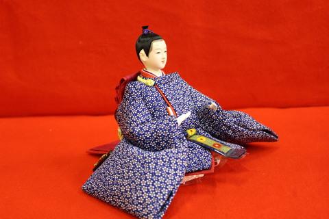 雛人形 正絹着尺江戸小紋衣装。 羽子板・破魔弓 販売中