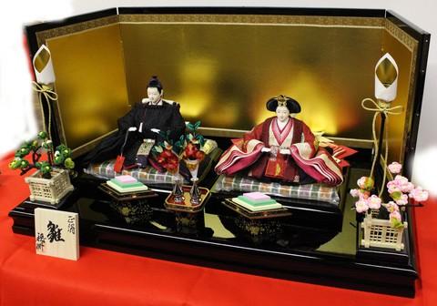新作 雛人形展示販売開始  岡崎市の人形店 藤川宿にあります