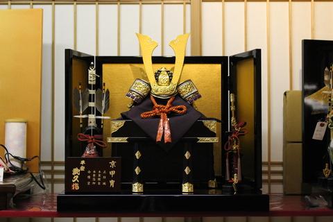 端午の節句 粟生人形の内飾りの紹介