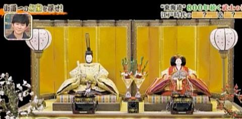 TV【所さんの学校では  教えてくれないそこんトコロ!】(テレビ東京系)の番組5月1日放送に出演・粟生人形