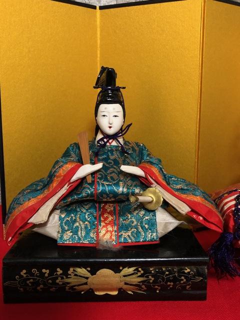 綺麗に甦りました。お殿様編!人形修復・衣装・髪・他修理2