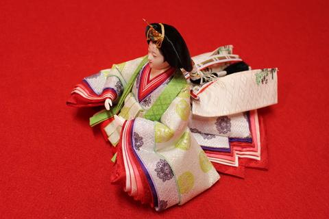 セミオーダーメイド雛人形完成!きれいでかわいいサイズの人形出来ました。