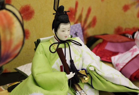岡崎イオンに粟生人形の雛人形、期間限定展示1月24日~1月26日・イオンモール西武百貨店方面に展示3