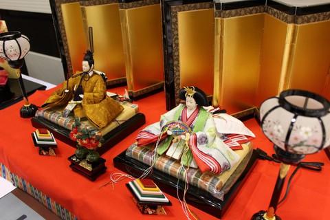 岡崎イオンに粟生人形の雛人形展示のお礼。ありがとうございました