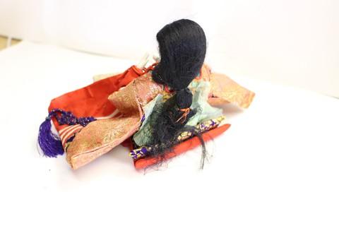 綺麗に甦りました。お姫様編!人形修復・衣装・髪・他修理3