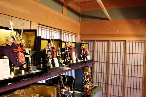 名匠 純金箔押し兜 京兜コーナー設置 粟田口 一水 武久 最大級の品揃え 愛知県の人形店です