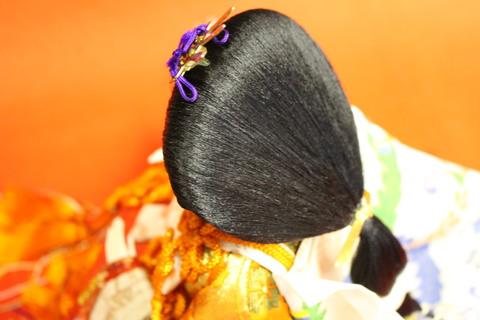 人形修理。お姫様髪の乱れ編!