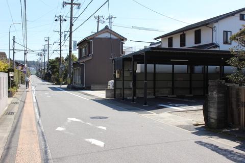 名古屋方面から粟生人形本店・新展示場への案内