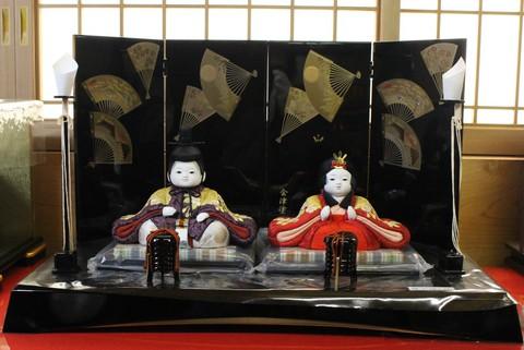 雛人形は粟生人形で! 木目込み人形 展示・販売中。