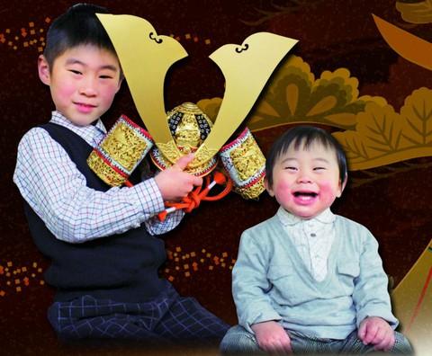 5月人形フェア開催中!画像は竹雀金物兜。愛知県 岡崎市 粟生人形